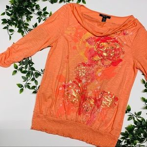 Style & Co Floral Top (M)